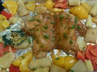 繽紛食蔬烤雞[聖誕派對]