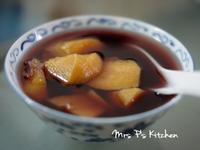 雙色地瓜甜湯 [簡易食譜]