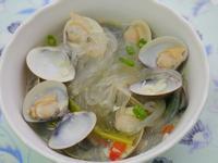 蒜香蛤蜊冬粉湯