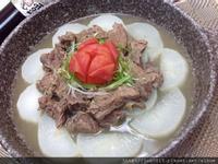 蘿蔔番茄牛肉鍋