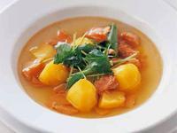 鮭魚馬鈴薯雞湯@法國料理,基礎的基礎