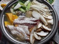 沙茶烏魚魚片火鍋(火鍋系列)