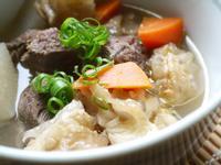中式清燉牛腩筋湯