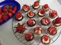 mini草莓塔