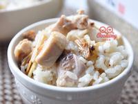 簡單版麻油雞菇菇炊飯