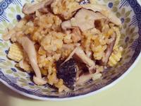 南瓜菇菇飯