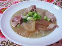 酸菜鴨肉冬粉