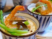 鮮蝦蛤蠣蒸蛋【電鍋版】