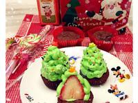 聖誕樹杯子蛋糕🎄光泉鮮乳