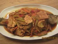 蛋豆腐紅燒魚