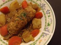咖哩燉高麗菜捲