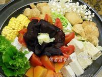 ♥憶柔蔬食♥麻油猴頭菇火鍋~素食