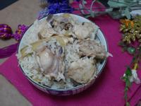 快速糯米麻油雞飯