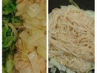洋蔥炒手工麵線