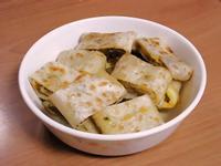 【無油無醬料】起司海苔肉鬆蛋餅佐黑胡椒