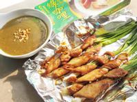 綠咖哩沙嗲串【穀盛綠咖哩】