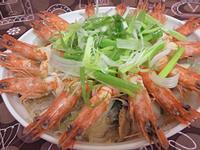 明蝦粉絲煲