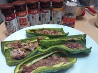 烤青椒鑲肉[烤箱][省事][懶人]