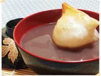 日式烤年糕紅豆湯