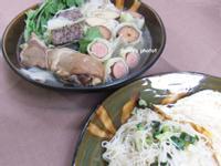 麻油雞湯+蔥油麵線【小七食堂回家煮】