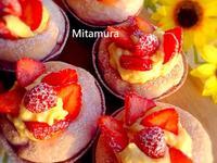 草莓克林姆麵包