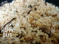 香菇肉絲蝦米蒸飯