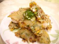 Sweet曼蒂~地瓜海鮮煎餅