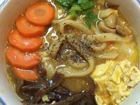 蔬食咖哩刀削湯麵