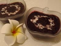 椰汁紫米紅豆