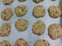 無奶油無蛋烘培 - 養生麥片堅果枸杞餅乾