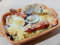 鮮食家海鮮南瓜焗烤飯