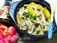 一鍵料理~纖菇壽喜燒飯~穀盛壽喜燒