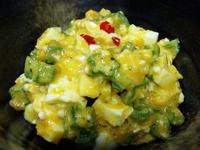 秋葵水煮蛋沙拉