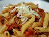 意式蕃茄鮪魚水管麵 [十分鐘食譜]