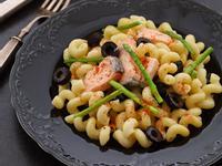 簡易版鮭魚蘆筍義大利螺旋麵