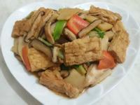 香菇筍片燒豆包 (穀盛壽喜燒)