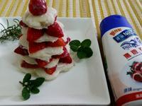 『鷹牌煉奶』草莓煉乳吐司塔