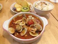 【吳双の愛妻料理】5分鐘茄汁燉海鮮