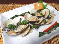 蒜味塔香蛤蠣