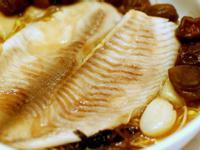 紫蘇梅蒸鯛魚- 電鍋版