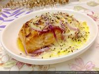 焗烤鮭魚排