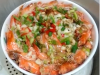 [電鍋]低卡清蒸鮮蝦豆腐