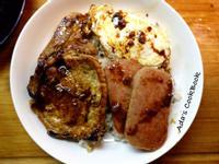 [港式料理] 超美味茶餐廳餐蛋豬扒飯
