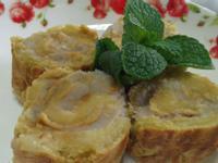 [簡易料理]鳳梨芋泥乳酪捲