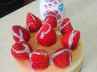 草莓煉奶綿花蛋糕-『鷹牌煉奶』