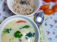 原味料理- 蔬菜豆腐茶碗蒸(蛋素)
