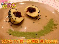 料理甜甜圈《豆腐料理週》宇治金時豆腐麻糬