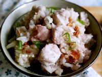 香蔥芋頭飯(零廚藝)