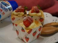 莓果卡士達杯子蛋糕『鷹牌煉奶』