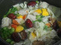 [簡易素食料理]紅棗山藥蔬食湯